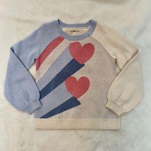 Tucker + Tate Sweater Girls Love Pop NWOT